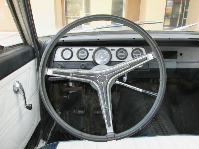 1968 AMC Rambler Sport-4wd-2nd Bench-cloth-cd Player