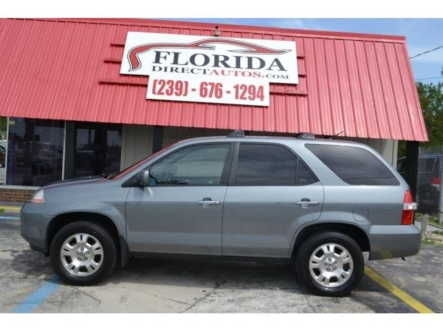 2001 Acura MDX T6 Sport Utility 4D