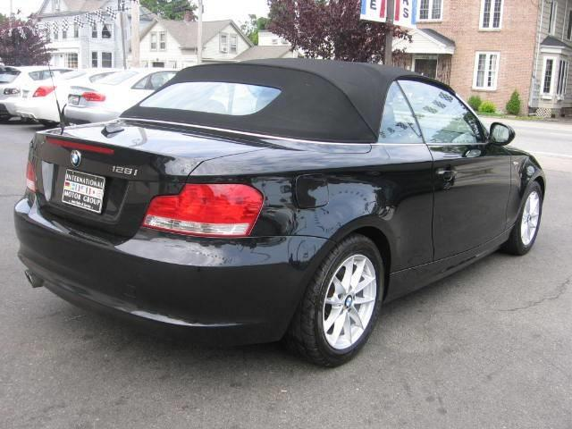 2010 BMW 1 series 2.5i Convertible
