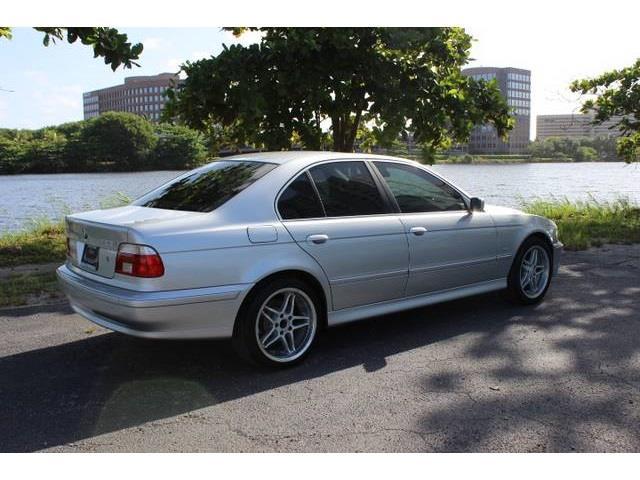 2002 BMW 5 series I6 Turbo