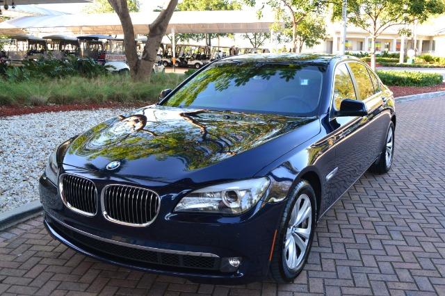 2011 BMW 7 series 3 Quad Coupe 2D