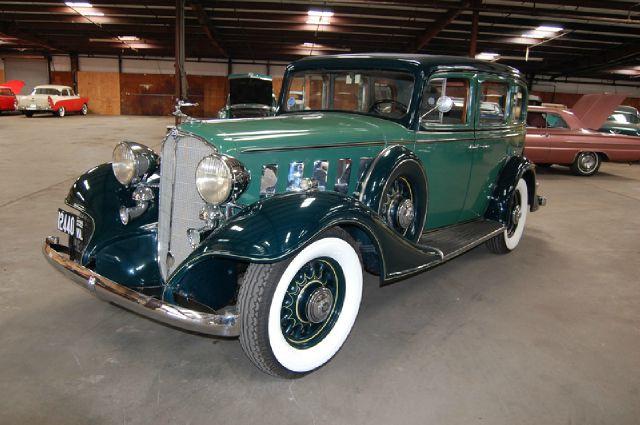 1933 Buick 57 4-Dr. Sedan