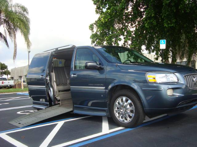 used buick terraza wheelchair van 2006 details buy used. Black Bedroom Furniture Sets. Home Design Ideas
