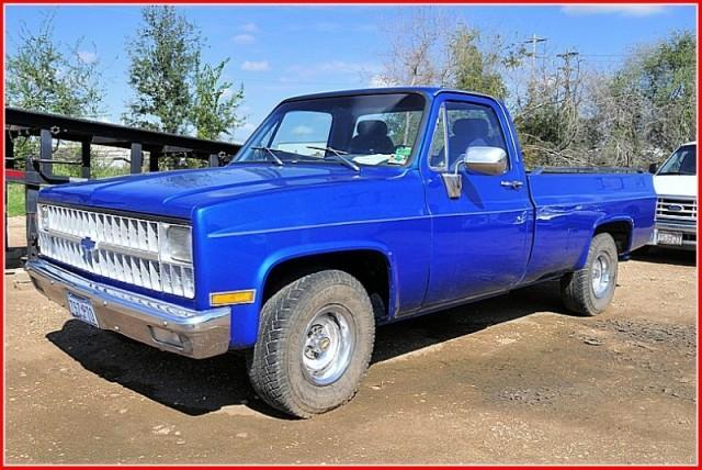 Used Chevrolet C10 1/2 ton long bed Cheyene 1981 Details ...