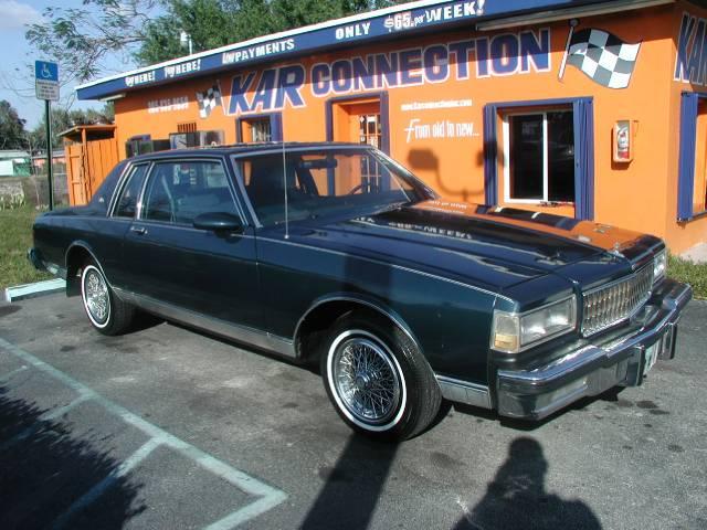 1987 Chevrolet Caprice Classic GT Premium