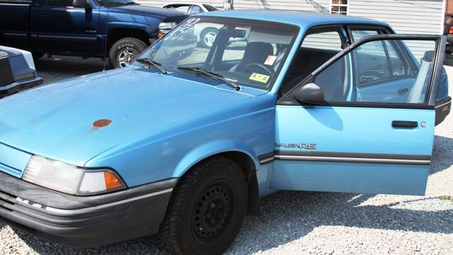 used chevrolet cavalier rs vl 1992 details buy used chevrolet cavalier rs vl 1992 in milton wv 25541 vin 1g1jc5440n7202107 used cars