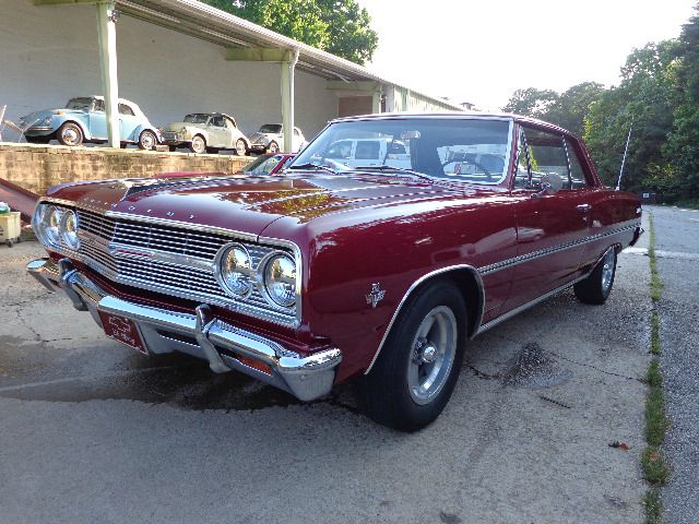 1965 Chevrolet Chevelle 2dr HB Manual Hatchback
