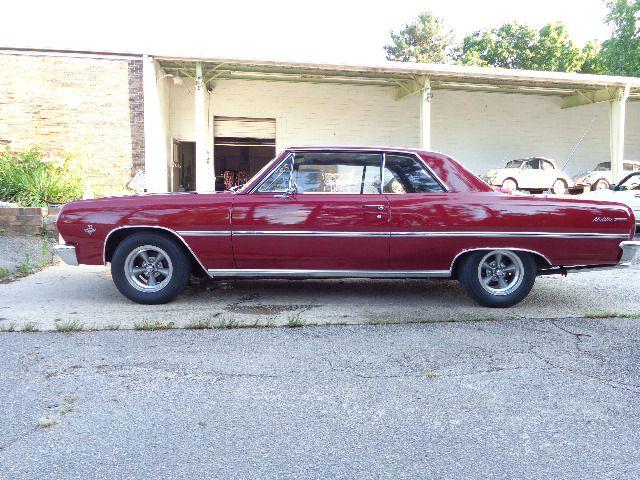 1965 Chevrolet Chevelle 2dr HB Manual Hatchback