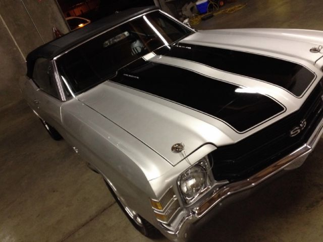 1971 Chevrolet Chevelle 4dr Sdn Auto (natl) Hatchback