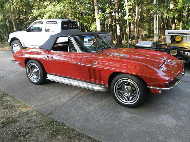 1966 Chevrolet Corvette Sport TECH PKG