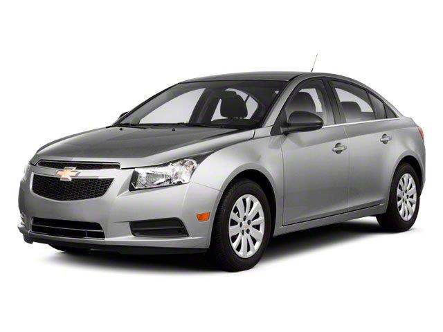 2012 Chevrolet Cruze Blk Ext With Silver Trin