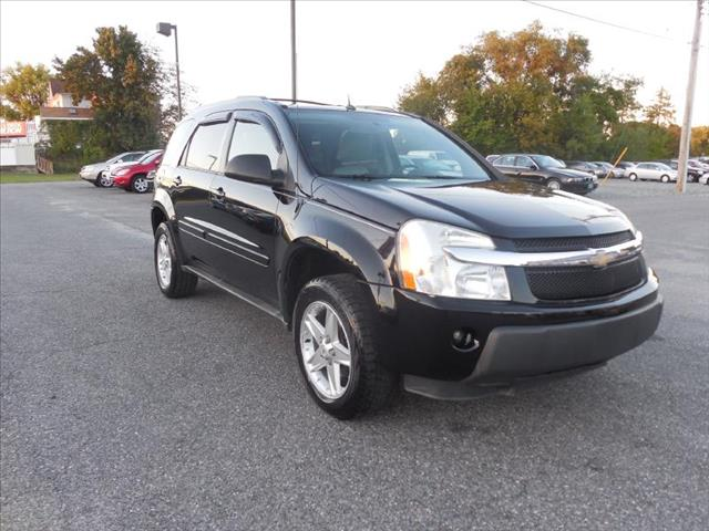 2005 chevy equinox owners manual