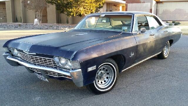 1968 Chevrolet Impala Details El Paso Tx 79904