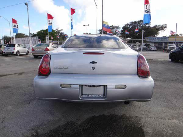 2004 Chevrolet Monte Carlo Touring W/nav.sys