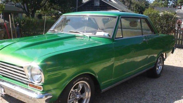 1963 Chevrolet NOVA Reg Cab 133 WB 2WD