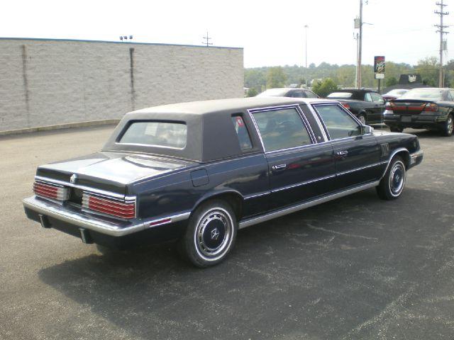 1984 Chrysler Executive Sedan Limo Unknown