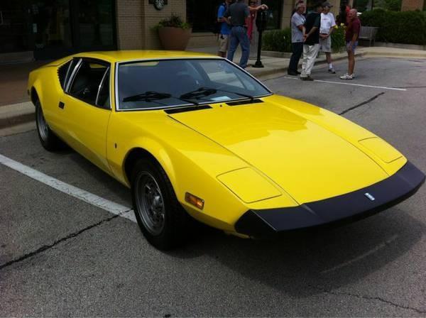 1974 DeTomaso Pantera SE 4 Dr
