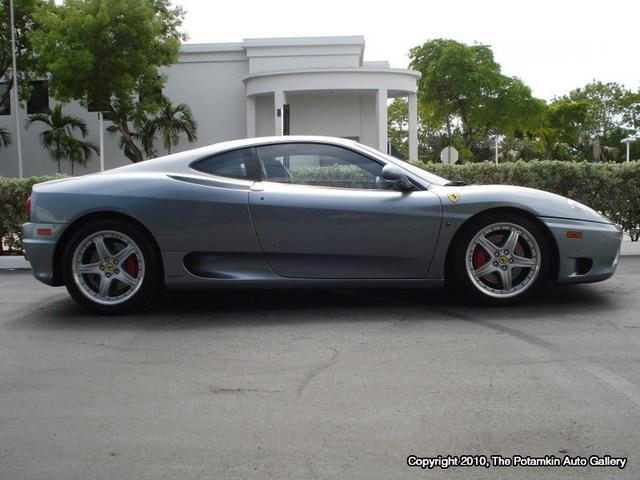 Ferrari 360 Modena 2003 Zffyu51a330133241 Photos