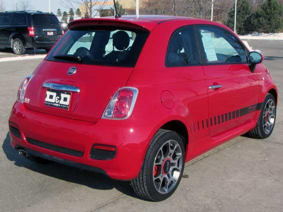 2012 Fiat 500 4 DOOR Wagon