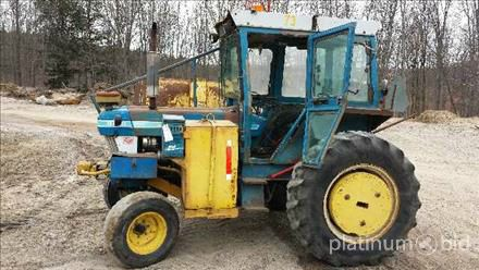 1983 Ford 6610 Utility Tractor Unknown