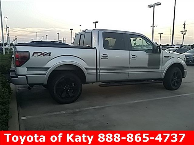 2012 Ford F-150 EXT CAB 4WD 143.5wb
