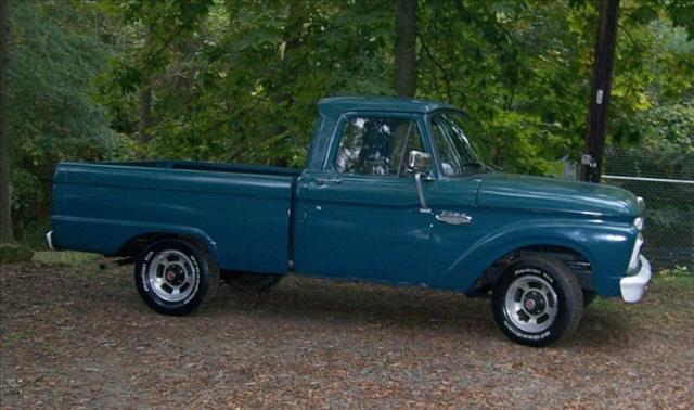 Ford F100 Restoration Parts Ford F100 shortbed '1966 Photos