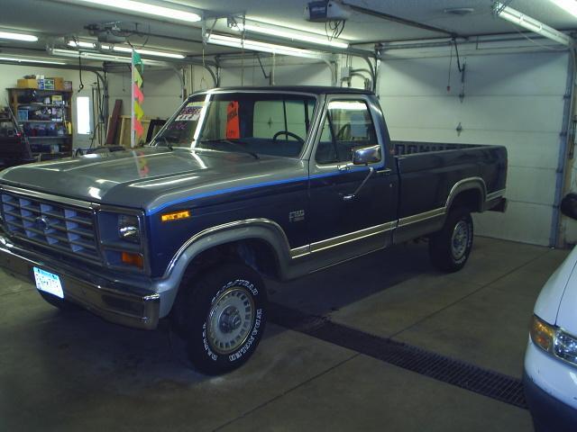 Ford F150 XLT 4x4 1986 1ftef14y5gpb84220 Photos