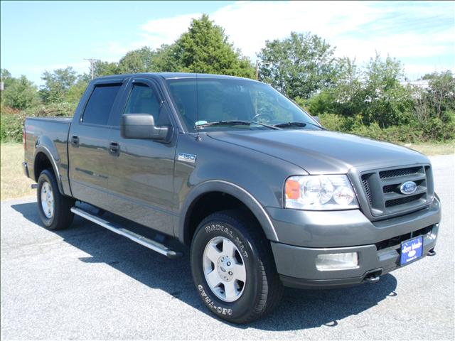 2005 Ford F150 EXT CAB 4WD 143.5wb