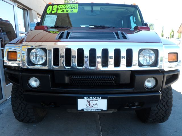 2003 Hummer H2 REG CAB Manual