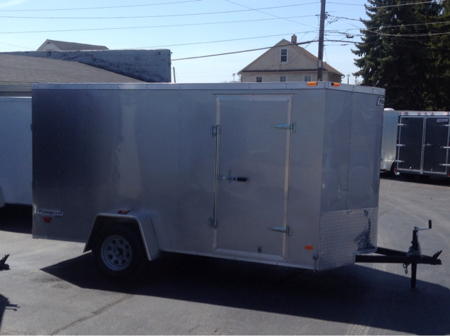 2014 Haulmark 6x12 +V-Nose - Ramp Door Quattro Convertible