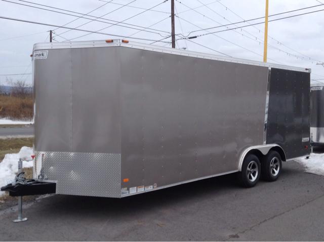 2014 Haulmark 8.5x20 Transport V-Nose - Ext. Cab 155.5 WB