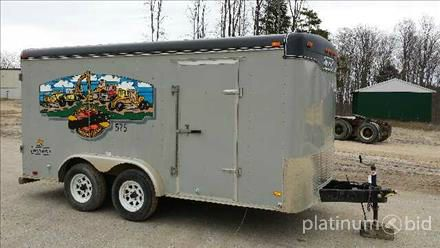 1999 Haulmark Enclosed Trailer