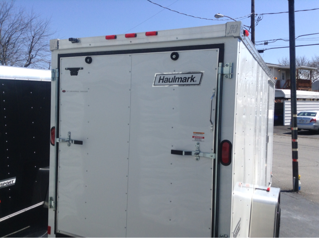 2014 Haulmark 6x12 V-Nose Transport Quattro Convertible