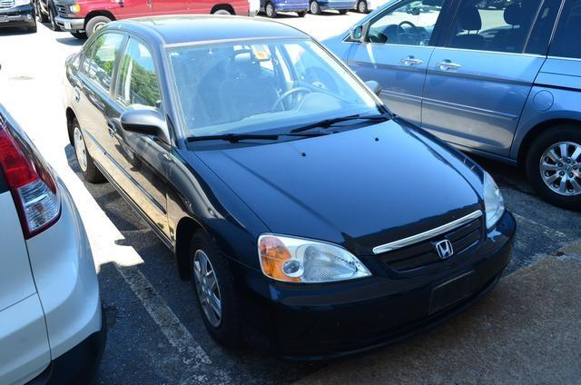 2003 Honda Civic 4DR SE (roof)
