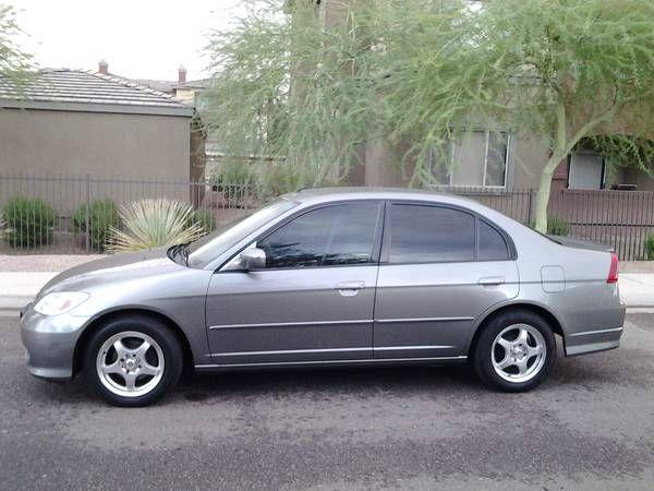 2004 Honda Civic 4DR SDN Hybrid
