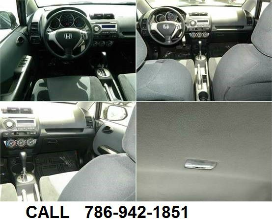 2008 Honda Fit 9-3 4Dr