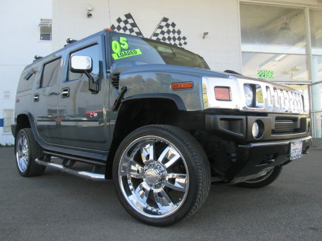 2005 Hummer H2 Touring Chrome Wheel Leather