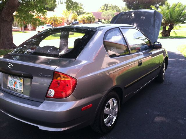 2003 Hyundai Accent LX Coupe 4-spd AT