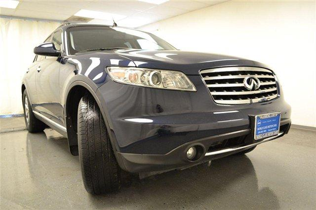 2008 Infiniti FX35 4x4 W Leather And Wood Grain