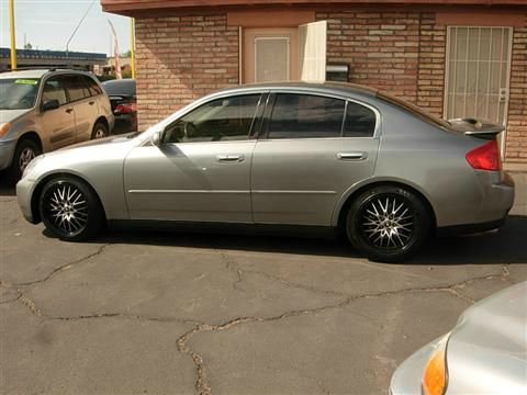 2004 Infiniti G35 S Power Tiltslide Moonroof