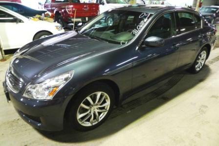 2009 Infiniti G37x S Cabriolet 2D
