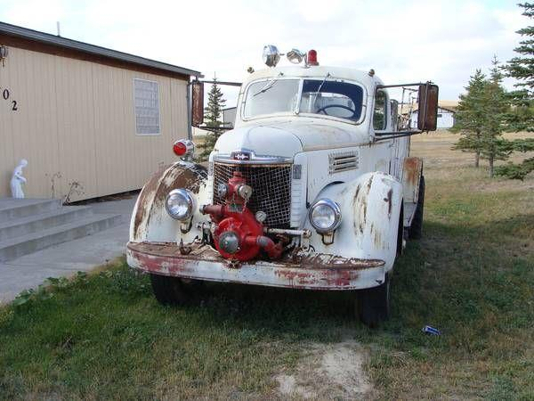 1949 International Fire Truck