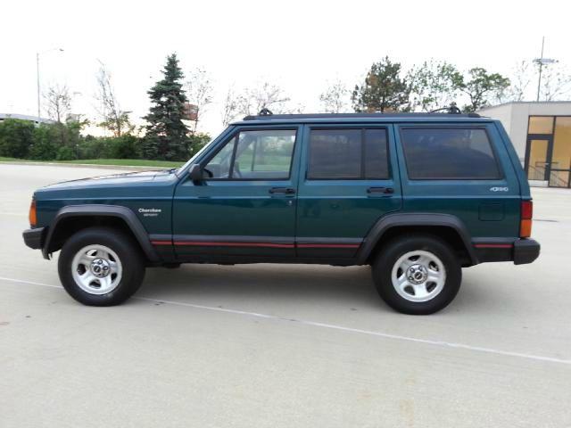 1996 Jeep Cherokee Base GLS LX