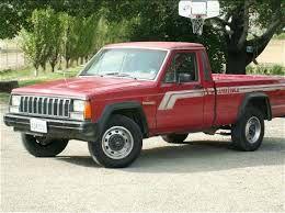 1988 Jeep Comanche Lariat Sprcb 4WD