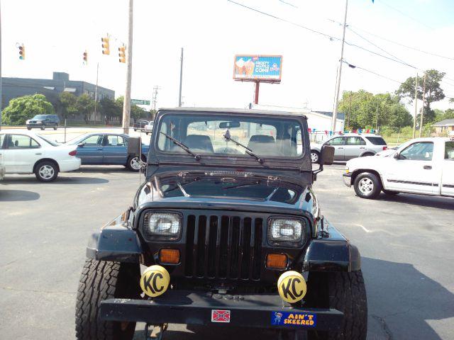 1991 Jeep Wrangler Frost