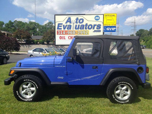1997 jeep wrangler se details  st louis  mo 63119