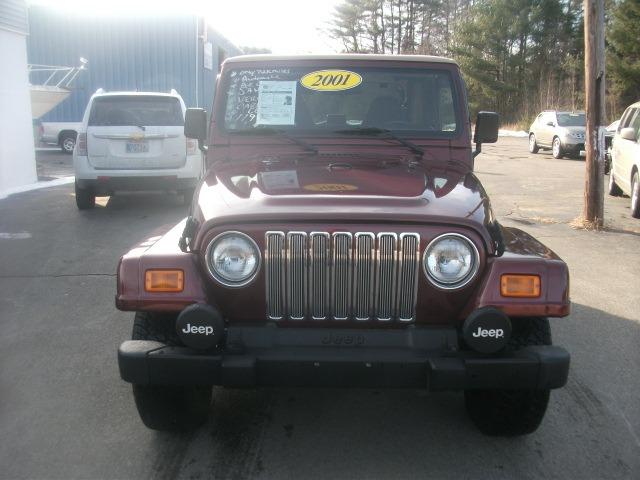 2001 Jeep Wrangler 3.5 SE
