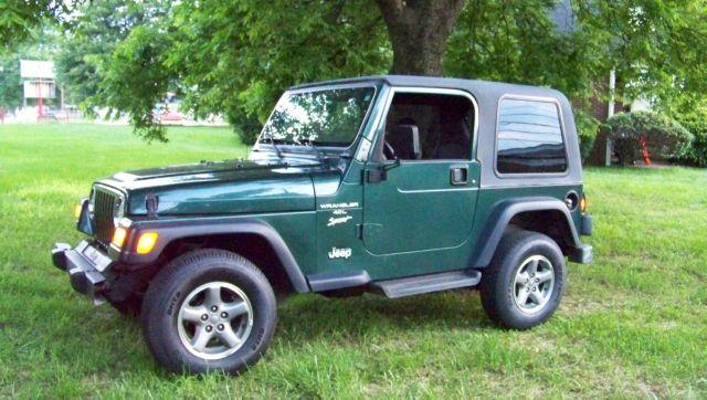 2001 Jeep Wrangler 545i Sport Pkg.premium Pkg.cold Wether Pkg.lether