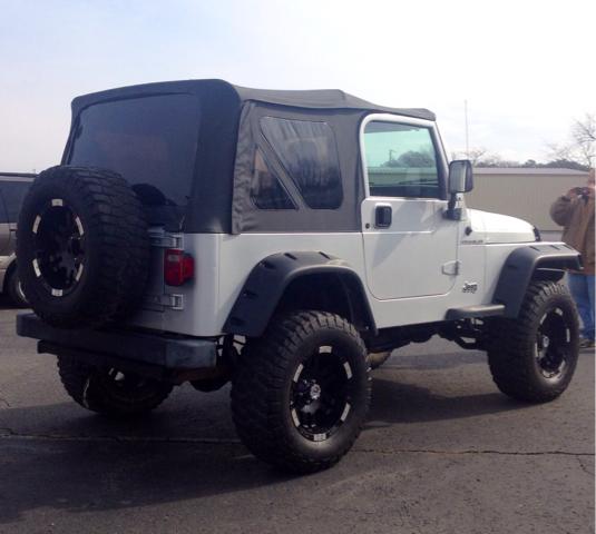 2002 Jeep Wrangler SW2