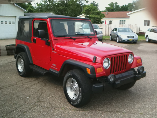 2003 Jeep Wrangler Lariat Sprcb 4WD